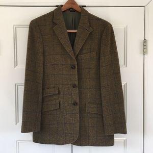J Crew Single Breasted 100% Wool Sport Coat